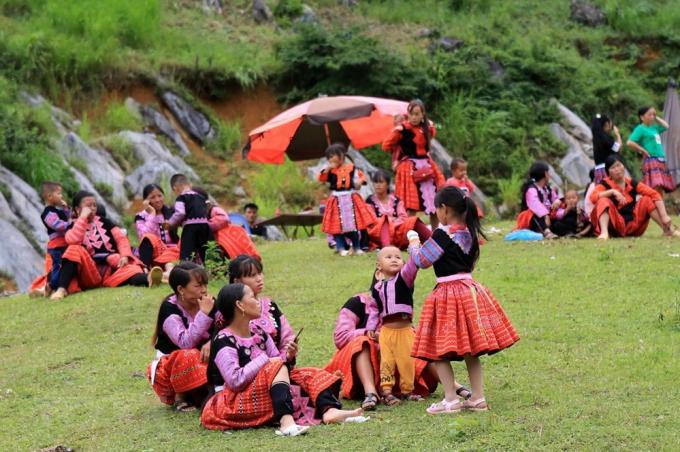 Tết Độc lập (2/9 hàng năm) là một trong hai cái Tết to nhất (bên cạnh Tết Nguyên đán) của người H'mông ở Mộc Châu, tỉnh Sơn La.(Ảnh: Ngọc Hà/TTXVN)