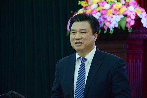Thứ trưởng Bộ Giáo dục và Đào tạo Nguyễn Hữu Độ.(Ảnh: Báo Giáo dục Việt Nam)