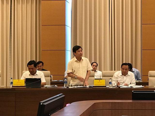 Viện trưởng VKSND tối cao Lê Minh Trí giải trình một số vấn đề UB Tư pháp của Quốc hội đặt ra