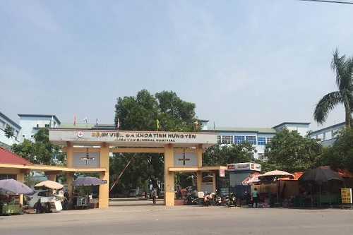 Bệnh viện đa khoa Hưng Yên.