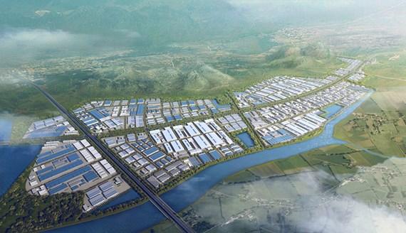 Mô hình KCN Sông Khoai do Tập đoàn Amata (Thái Lan) đầu tư.