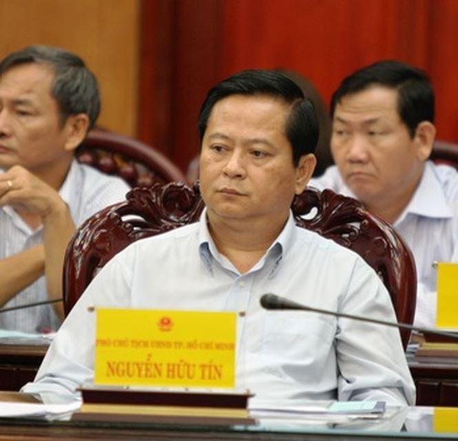 Ông Nguyễn Hữu Tín- cựu Phó chủ tịch UBND khi còn đương chức