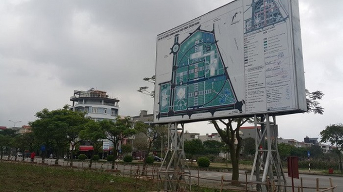 Quy hoạch khu Trung tâm hành chính tỉnh Hải Dương.