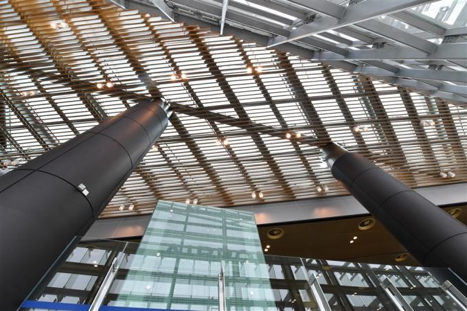 Không gian kiến trúc cảng hàng không Vân Đồn.