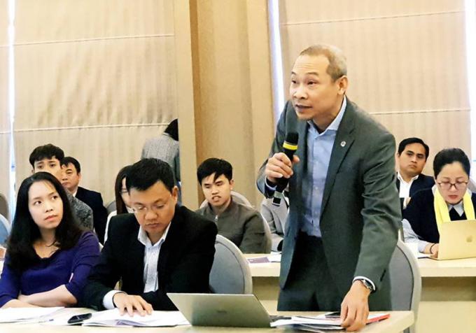 Các đại biểu phát biểu tại Hội thảo. - Ảnh: VGP