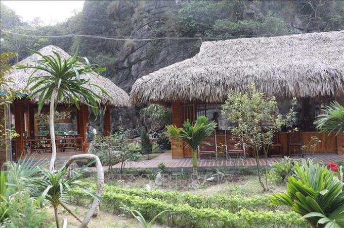 Một homestay hoạt động trái quy định tại xã Trường Yên, huyện Hoa Lư. Ảnh: Ninh Đức Phương/TTXVN