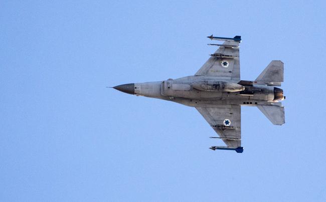 Chiến đấu cơ F-16 của quân đội Israel. Ảnh: AFP