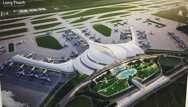 Kiến trúc Hoa Sen được Bộ GTVT quyết định chọn cho Sân bay Long Thành