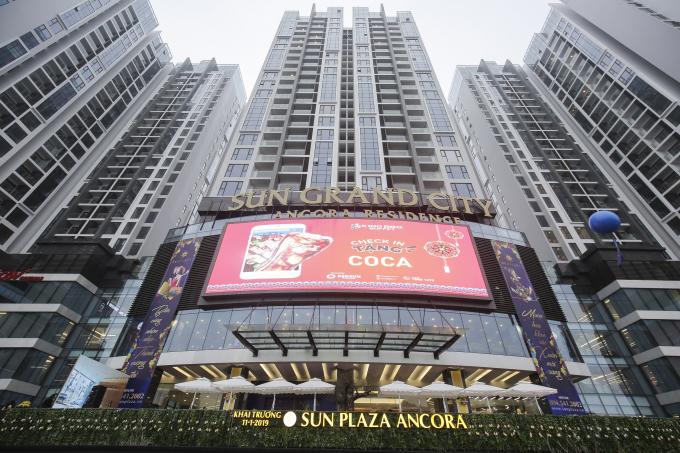 Sun Plaza Ancora khác biệt với mô hình boutique shopping center.