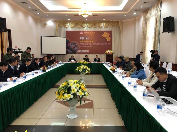 UBND tỉnh Bắc Giang họp báo công bố các hoạt động Tuần Văn hóa - Du lịch Bắc Giang 2019.