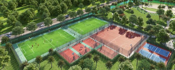 Hệ thống tiện ích thể thao được đầu tư quy mô bài bản tại VinCity Sportia