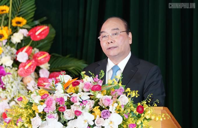 Thủ tướng phát biểu tại hội nghị.