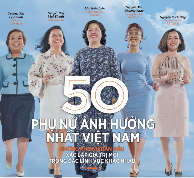 Forbes Việt Nam vinh danh Bà Mai Kiều Liên trong Top 50 Phụ nữ ảnh hưởng nhất Việt Nam 2019