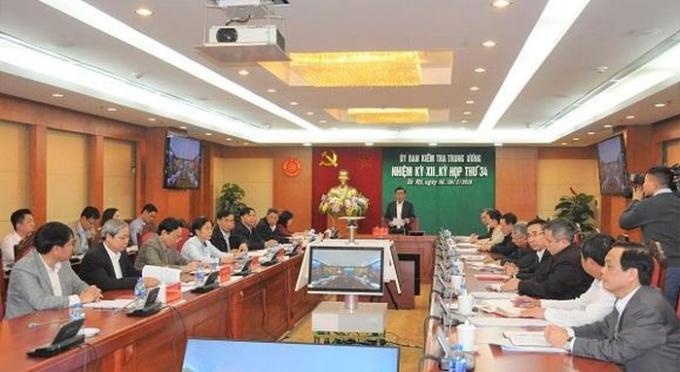 Ủy ban Kiểm tra Trung ươngkết luận vi phạm của ông Nguyễn Ngọc Thư và Đào Ngọc Tuấn là rất nghiêm trọng.