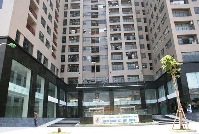 Chung cư HH1 - HH2, ngõ 102 Trường Chinh do Công ty cổ phần cơ điện xây dựng Việt Nam làm chủ đầu tư bị bêu tên tồn tại vi phạm về PCCC.
