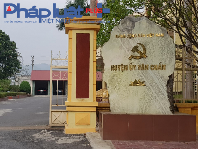 Huyện ủy Văn Chấn.