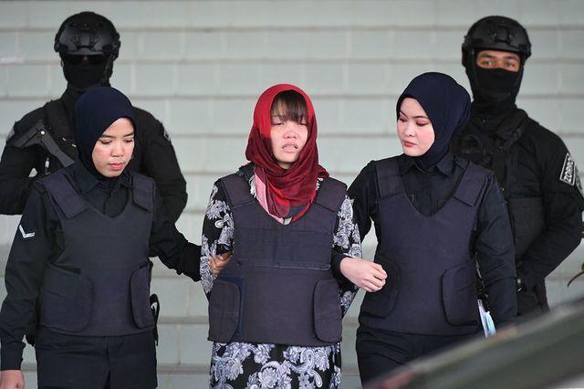Đoàn Thị Hương (Ảnh: AFP)