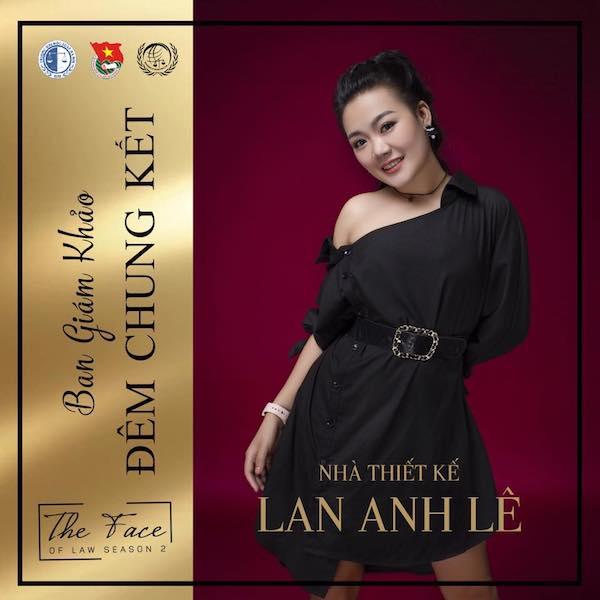 Nhà thiết kế Lan Anh Lê.
