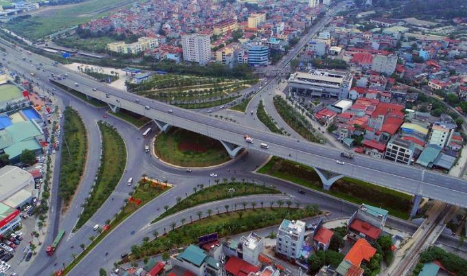 Dự án nút giao trung tâm quận Long Biên.