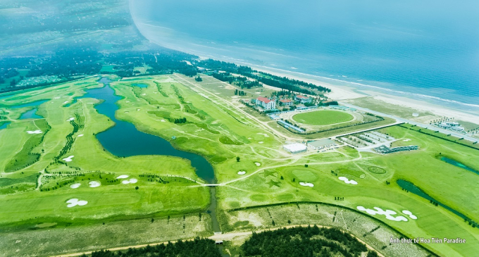 Hình ảnh chụp flycam thực tế tại dự án Hoa Tiên Paradise