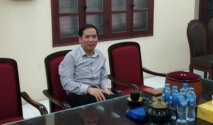 Ông Nguyễn Đức Tải - Chủ tịch HĐĐG tỉnh Hưng Yên thừa nhận không biết lạc trồng xen canh.