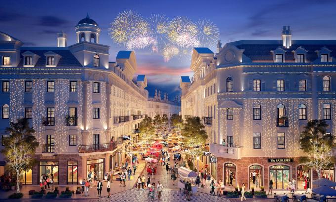 Tiểu khu Élyseé - Shophouse Europe hứa hẹn trở thành là dãy phố thời trang sôi động tại Hạ Long