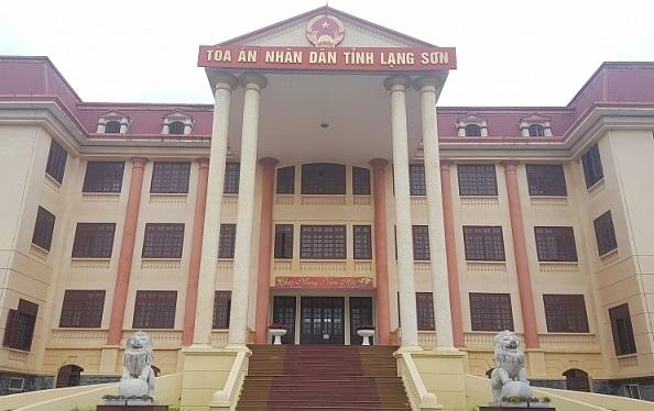 Tòa án nhân dân tỉnh Lạng Sơn.