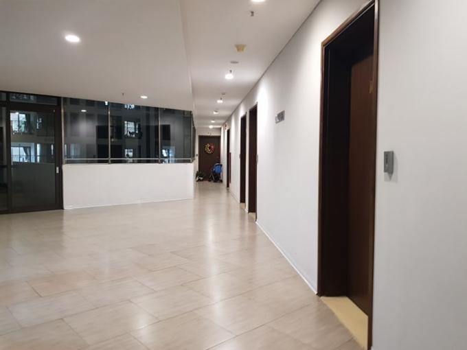 Khu vực chủ đầu tư biến thành căn hộ để bán và cho thuê.