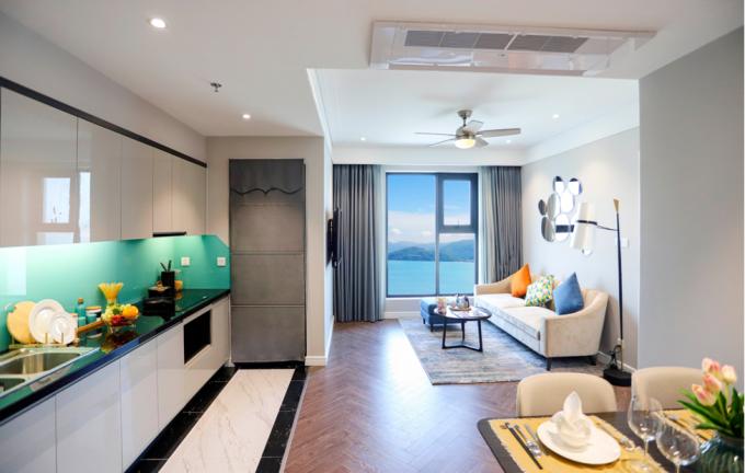 Không gian sống mãn nhãn tại căn hộ Altara Residences Quy Nhơn