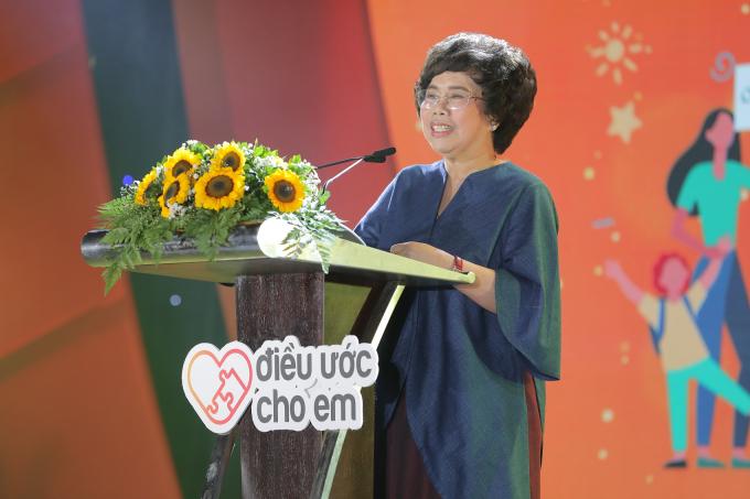Bà Thái Hương, Nhà sáng lập – Chủ tịch Hội đồng Chiến lược Tập đoàn TH, Tổng Giám đốc BAC A BANK mong muốn chương trình Sức khỏe học đường được triển khai bài bản trên toàn quốc.