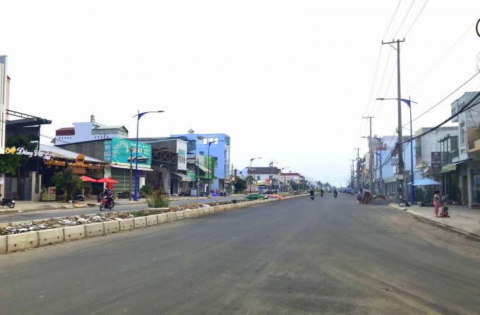 Công trình đường nối Cách mạng Tháng Tám (CMT8) đến đường tỉnh 918 (quận Bình Thủy, TP Cần Thơ)