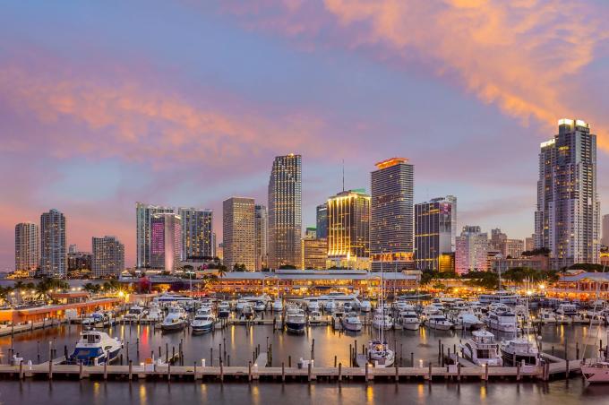 BĐS thành phố Miami thăng hạng nhờ bến du thuyền đẳng cấp