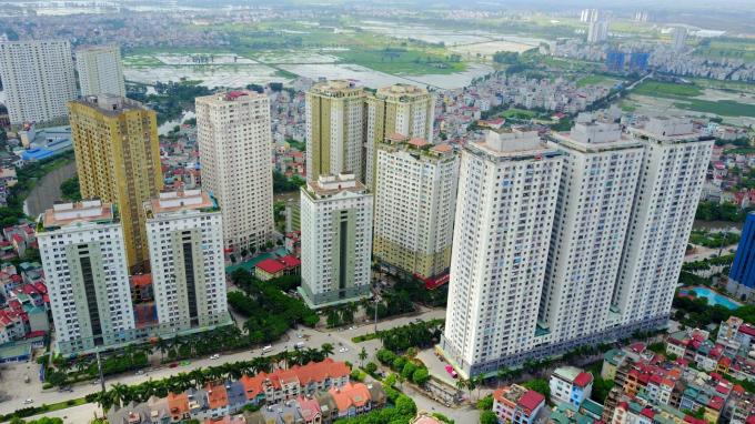 Giá chung cư tiếp tục tăng bất chấp tình hình dịch bệnh.