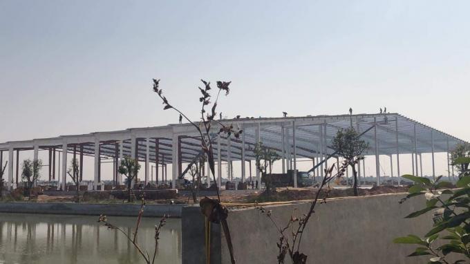 Công trình nhà máy Công ty Cổ phần chế biến nông sản thực phẩm xuất khẩu Hải Dương.