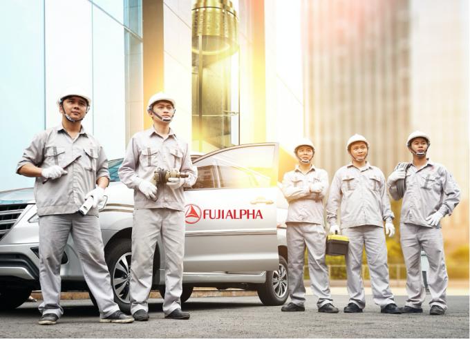 FUJIALPHA là công ty thang máy có dịch vụ bảo trì tốt nhất trên thị trường hiện nay