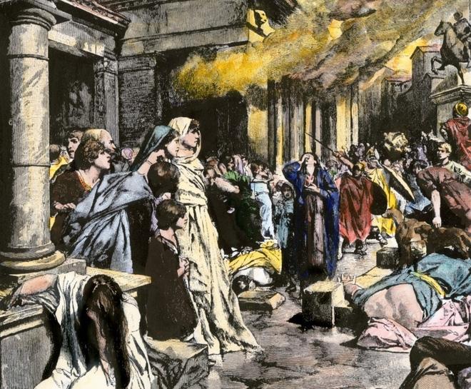 Đế chế La Mã bị diệt vong có liên quan tới chì?