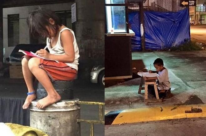 Nhiều trẻ em Philippines vẫn phải học tập trong hoàn cảnh khó khăn, thiếu thốn. Ảnh: Facebook.