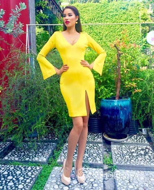 Một số hình ảnh của Hoa hậu Phạm Hương hồi bắt đầu tạo dựng tên tuổi trên  đấu trường nhan sắc
