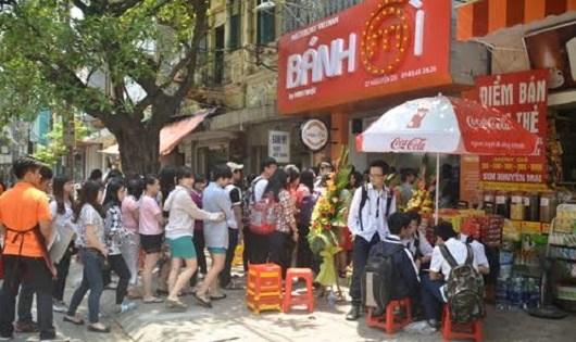 Bà chủ chuỗi cửa hàng bánh mỳ Minh Nhật xác định xây dựng thương hiệu ngay từ đầu.