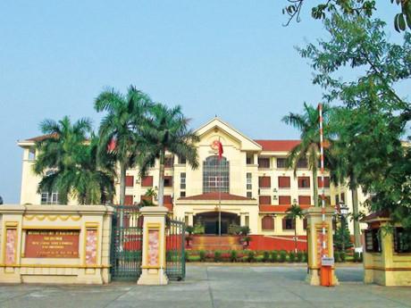 Trụ sở UBND tỉnh Bắc Ninh. Ảnh: Báo Tiền phong