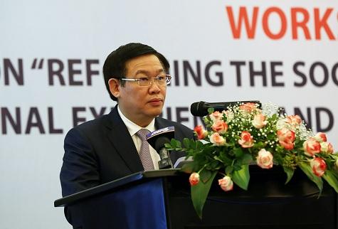 Phó Thủ tướng Vương Đình Huệ dự Hội thảo về chính sách BHXH