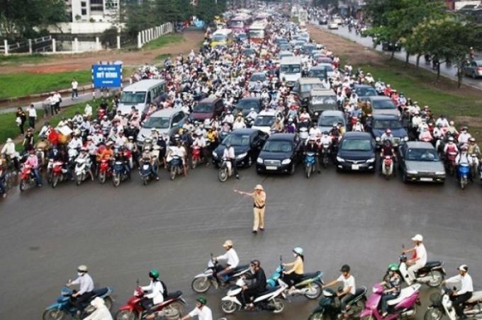 UBND TP Hà Nội chỉ đạo thực hiện các biện phảm đảm bảo thực hiện trật tự ATGT dịp Tết Nguyên đán Bính thân và các lễ hội xuân năm 2016 (ảnh minh họa. Nguồn: internet).