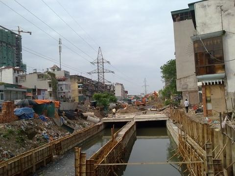 Dự án Cống hóa kênh Lạc Trung sẽ được thực hiện từ 2016 - 2018.