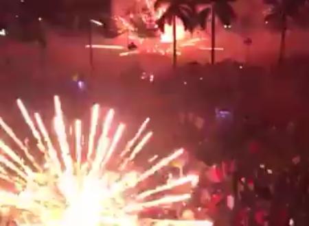 Cảnh tượng mất an toàn đã ám ảnh người dân Quảng Ngãi bị pháo bắn trúng người.
