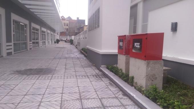 Tòa nhà chưa nghiệm thu Phòng cháy chữa cháy đã cho dân vào ở.