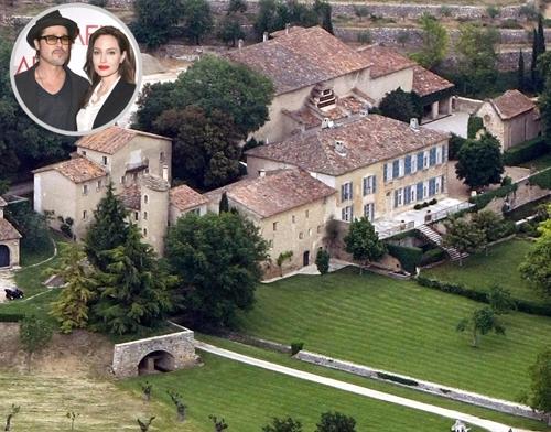 Theo thống kê của People, Brad Pitt và Angelina Jolie sở hữu nhiều bất động sản có giá trị ở khắp nơi trên thế giới.