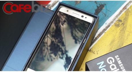 Việt Nam đã nhận được Galaxy Note7 đổi trả