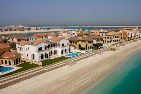 8. Jumeirah Frond P Villa – 17,1 triệu USD.