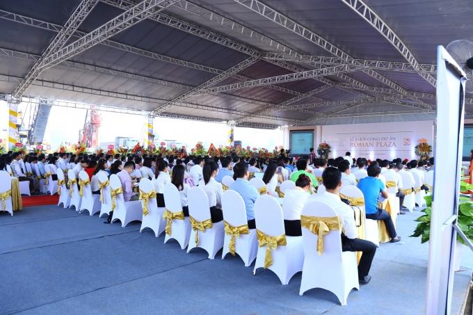 Lễ khởi công dự án ROMAN PLAZA đã diễn ra thành công tại khu đất dự án tọa lạc tại PhườngĐại Mỗ, Quận Nam Từ Liêm, Hà Nội.