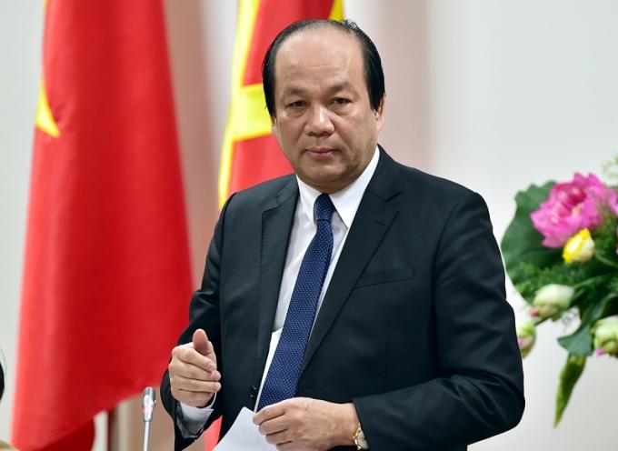 Bộ trưởng, Chủ nhiệm VPCP Mai Tiến Dũng.